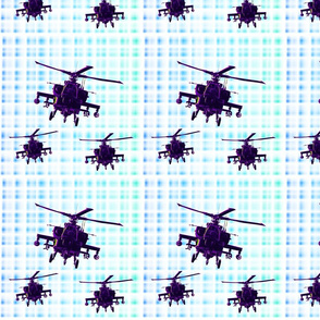 Helicopter fabric