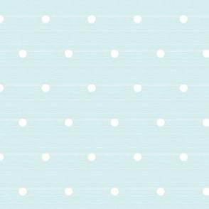 Whitewash Woven Polka Dots