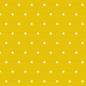 Golden woven Polka Dots