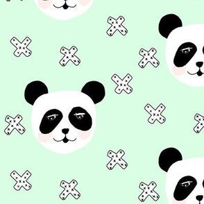 blushing panda mint