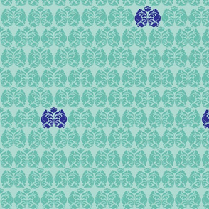 3 Color Damask