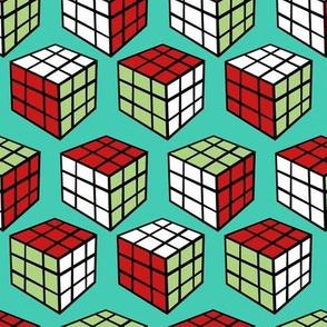 Red Fox Puzzle Block