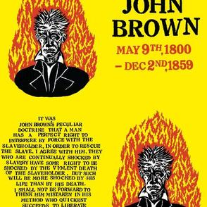 John Brown Commemorative Fabric