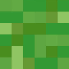 Large 8-Bit Pixel Blocks - Grass