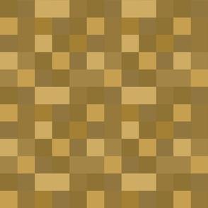 8-Bit Pixel Blocks - Gold Belt