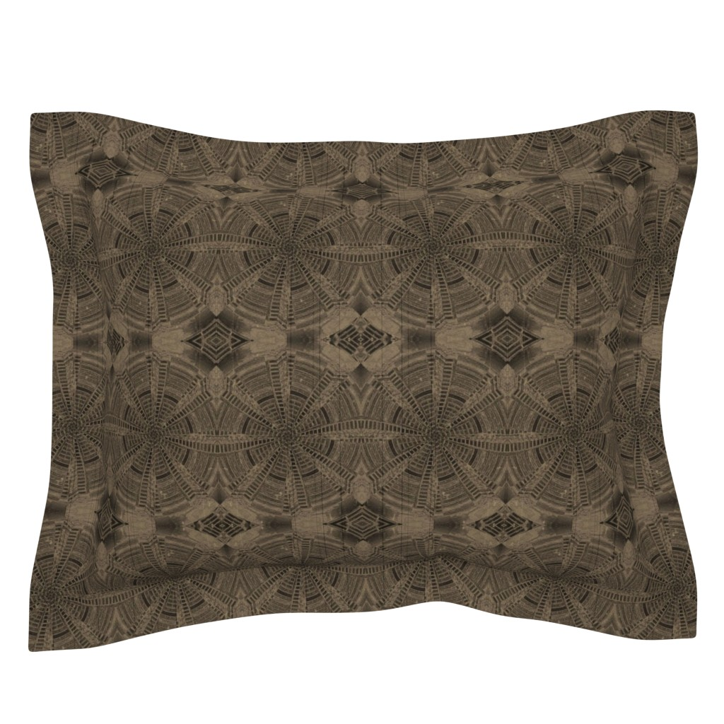 Sebright Pillow Sham featuring Spinning Around by melforrest