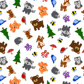 Forest - Animals Scattered