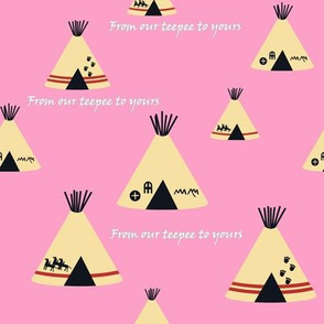 Our Teepee - Pink