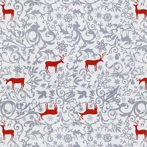 Scroll Red Deer