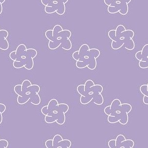 Flowery Scribbles 001