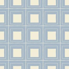 squares - blue