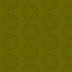 Julia/ Mandelbrot Set Mathematical Fabric 2