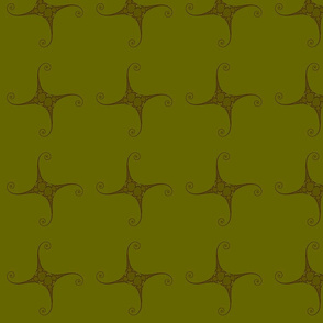Julia/ Mandelbrot Set Mathematical Fabric 3