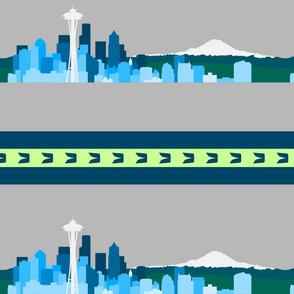 Seattle Sports Skyline