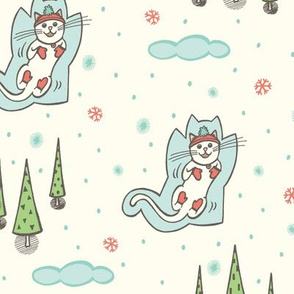 Snow angels - cream