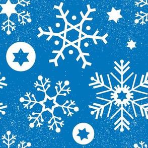 Hanukkah Snowflakes // Sky