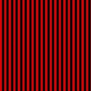 Doll Stripe Red/Black vertical