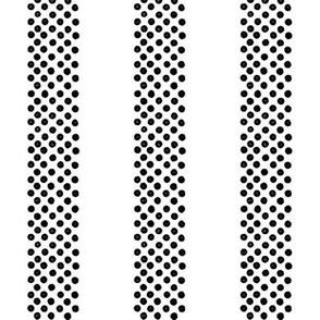 Rayures ~ Polka Dots ~Black and White