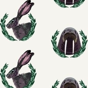 Mr Walrus & Mrs Bunny