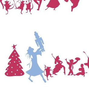 The Nutcracker: Cast Silhouette