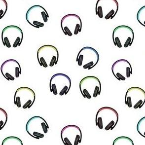 Funky Multi-Colored Headphones