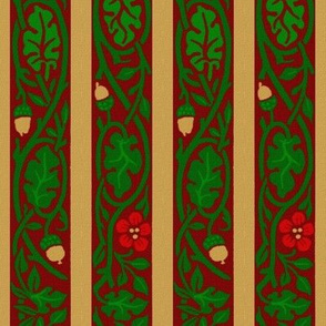 William Morris ~ Christmas ~ Acorn Ribbon