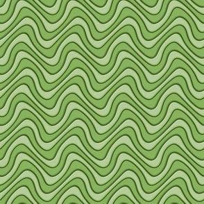 Green Moss Swirl