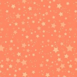 Coral Pink Scattered Stars