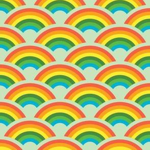 Rainbows! Rainbows! Rainbows! (green)