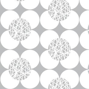 Fifties Flower White