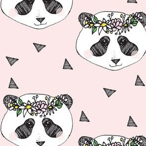 panda pink flower - elvelyckan