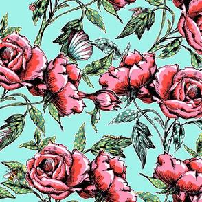 Summer Flowers - Bright
