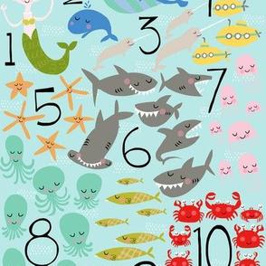 Under the Sea 1-2-3!