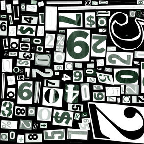 Numbers by Friztin