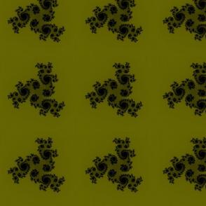 Julia/ Mandelbrot Set Mathematical Fabric 5