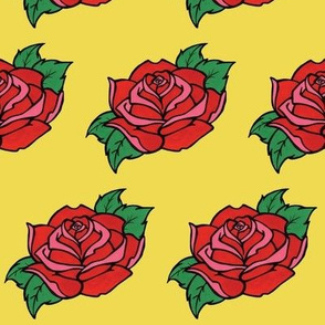 Tattoo Flash Rose