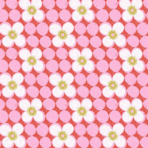 dotty flowers-small scale