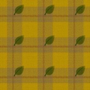 gingham mesh sunflower