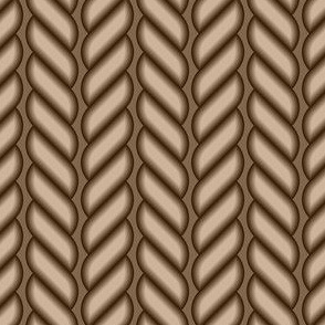 03827834 : rope stripe : brown