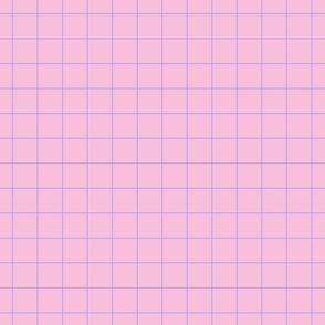 Lauper Fizz - Pink Grid