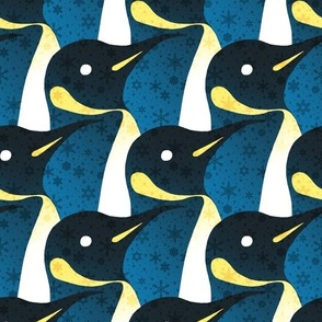 Magical Snowy Penguin March