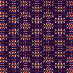 Folk Flowers Pattern 4