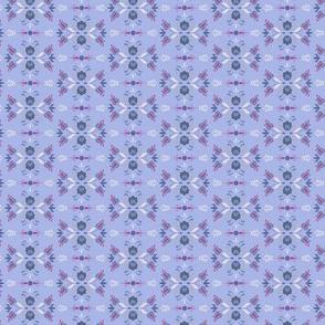 Folk Flowers Pattern 4 - Winter
