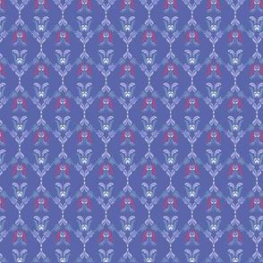Folk Flowers Pattern 5 - Winter