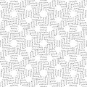 03832695 : octagonal star weave in 5