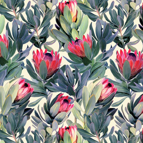 Painted Protea Floral