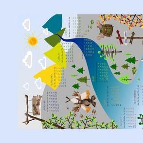 Woodland calendar 2020