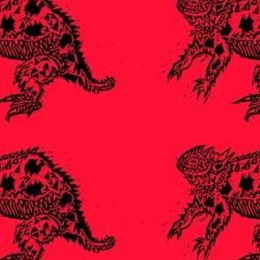 Red Leapin' Lizard