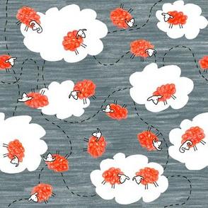 Sheep in Clouds