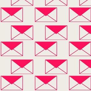 Envelop Envelopes in Fuchsia